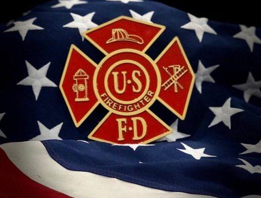 Metal U.S. Firefighter