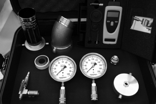 Water flow test kits